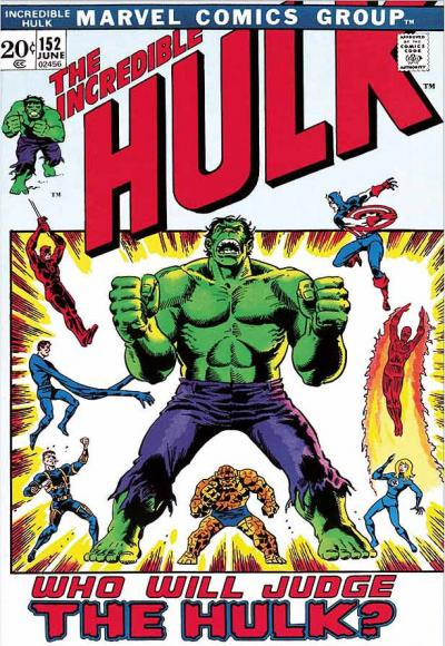 The Incredible Hulk #152 - Who Will Judge The Hulk?