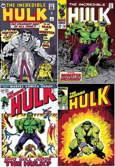 The Incredible Hulk Portfolio - Paper