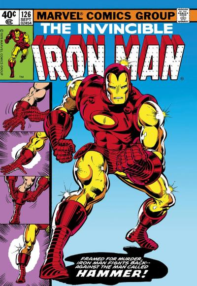 The Invincible Iron Man #126  - Iron Man Fights Back