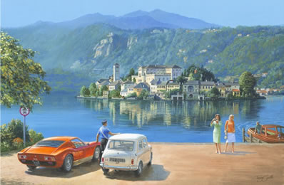 The Italian Job Lives 3 by Tony Smith