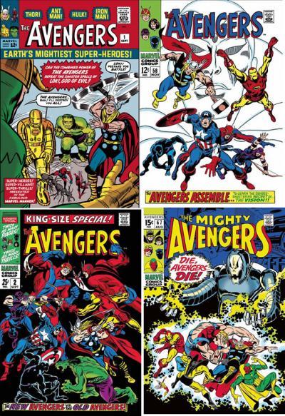 The Mighty Avengers Portfolio - Canvas