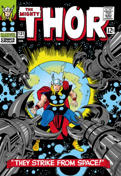 The Mighty Thor #131  - They Strike Space