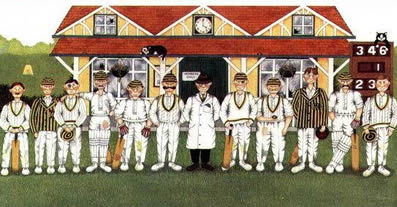The Pride Of The Village - Cricket