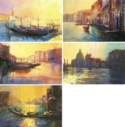 The Venetian Quartet Portfolio & Free LE Print