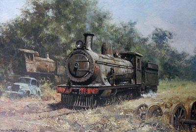 The Zambezi Sawmills Railway