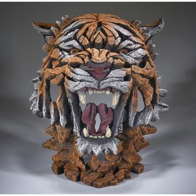 Tiger Bust by Edge Sculptures by Matt Buckley