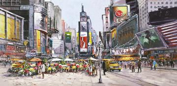 Times Square in Bloom by Henderson Cisz