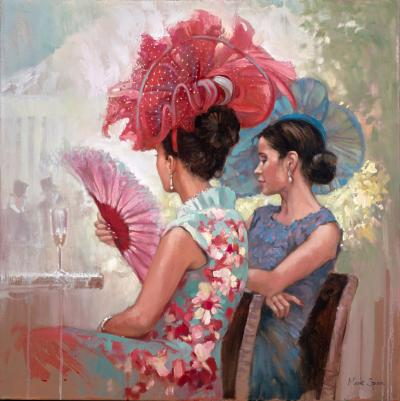 Two Ladies at Ascot Races