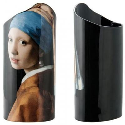 Vermeer Girl with a Pearl Earring - Vase