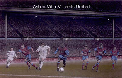 Wembley Magic - Aston Villa vs Leeds United by Stephen Doig