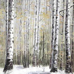Winter Dreams - White Frame