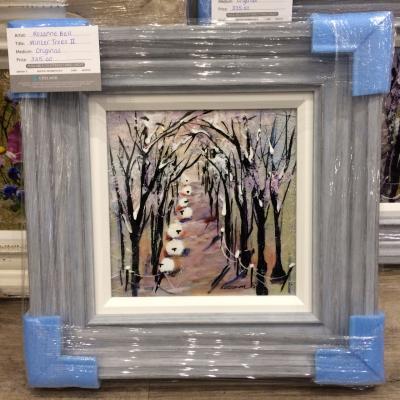 Winter Trees II (10 x 10)