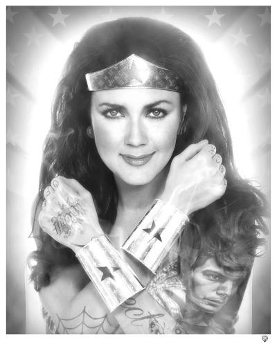 Wonder Woman Black & White