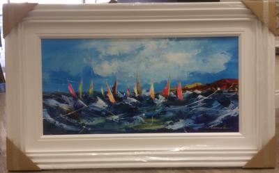 Yachts I (36 x 18)