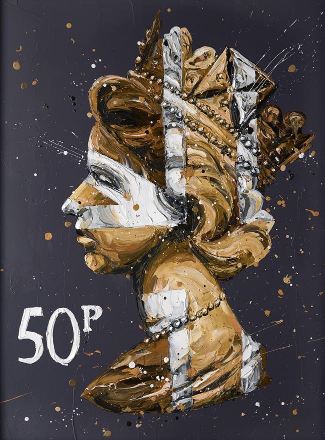 50k Queen by Paul Oz