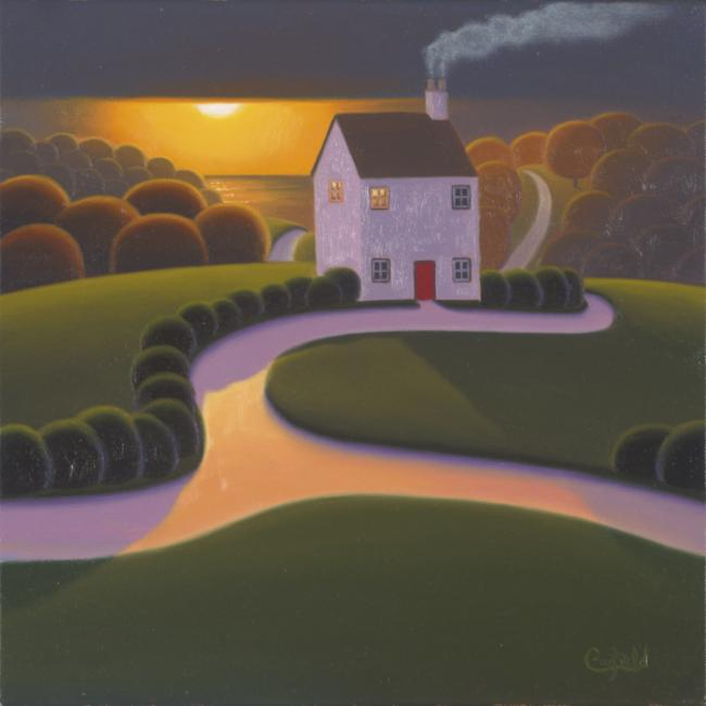 A Warm Evening Glow by Paul Corfield