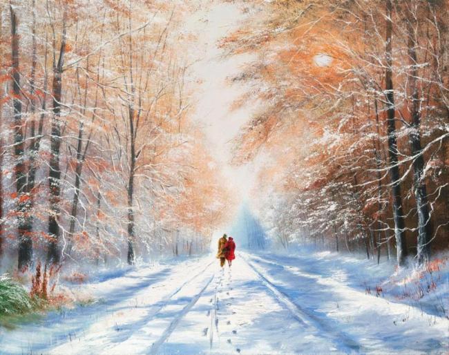 A Winter Sun by Jeff Rowland