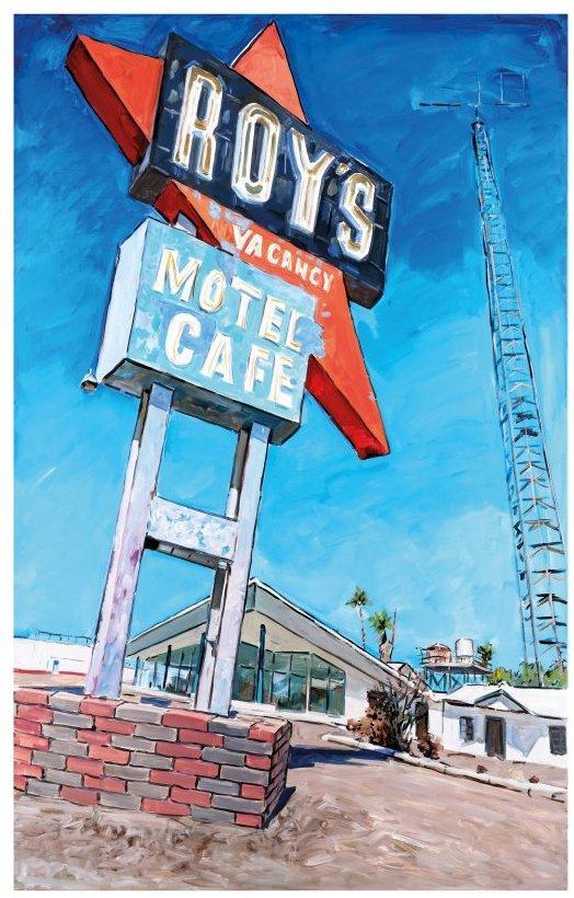 Abandoned Motel, Eureka by Bob Dylan