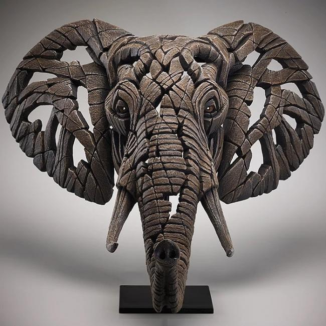 African Elephant by Edge Sculptures by Matt Buckley