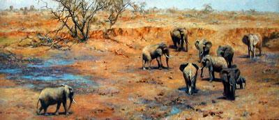 African Waterhole by David Shepherd