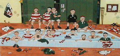 After The Battle - Rugby by Linda Jane Smith