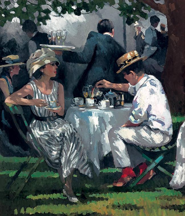 Afternoon Tea by Sherree Valentine Daines