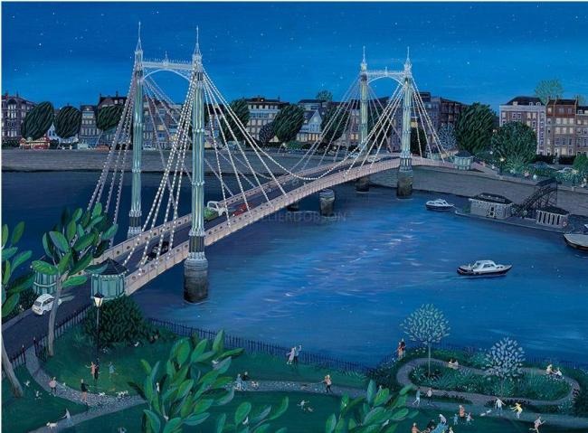 Albert Bridge by Jenni Murphy