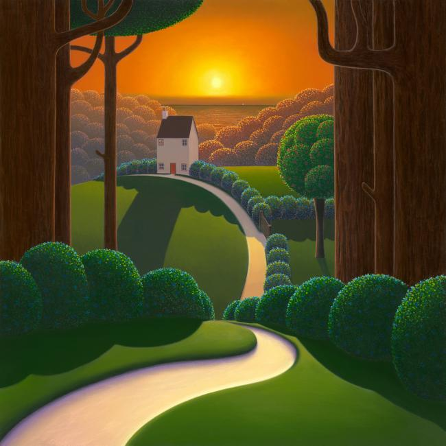 Amber Sky by Paul Corfield