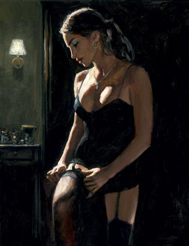 Analucia III by Fabian Perez