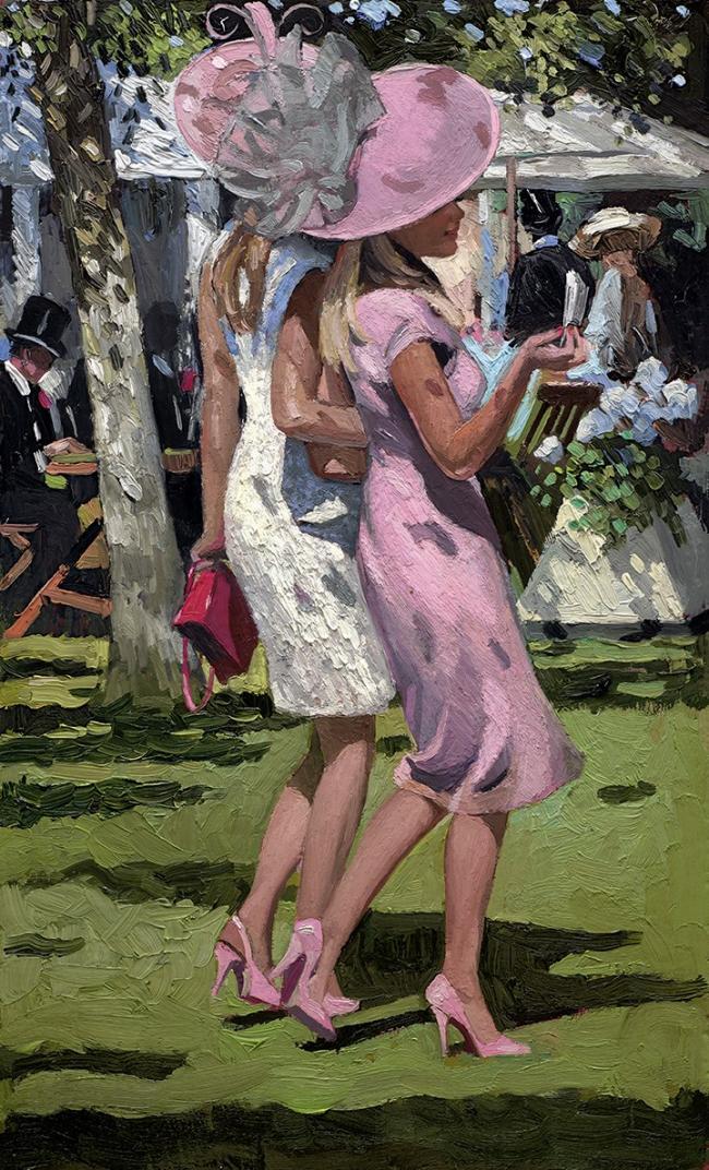 Ascot Chic I by Sherree Valentine Daines