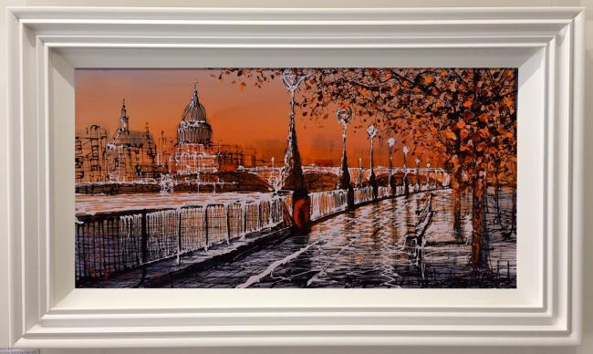 Autumn Burst by Nigel Cooke