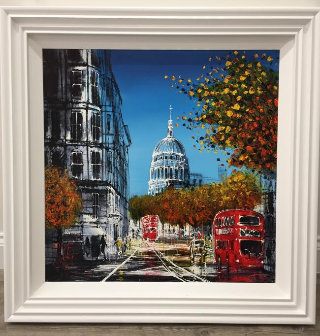 Autumn St Paul's by Nigel Cooke