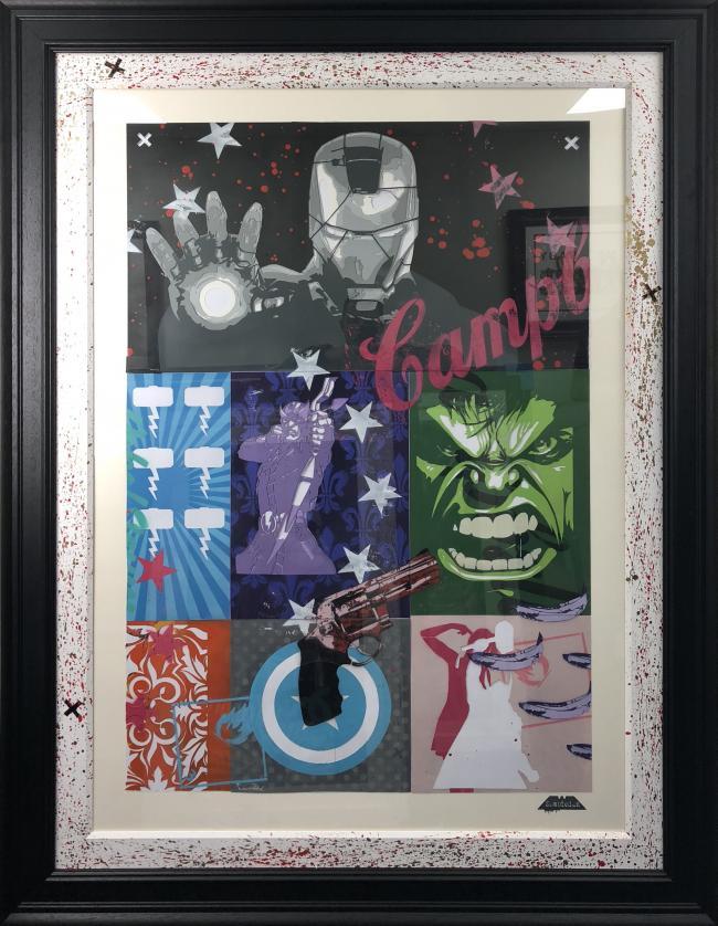 Avengers Stencil by Zombiedan