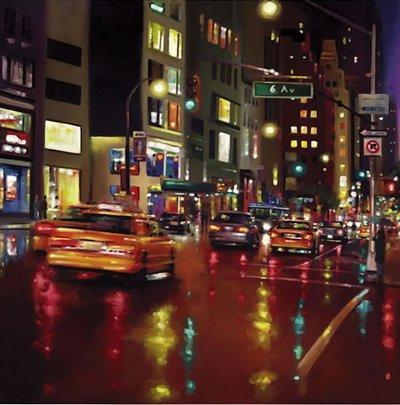 Avenue Of The Americas by Neil Dawson