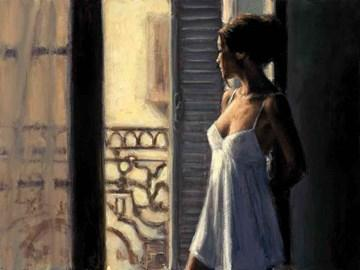 Balcony at Buenos Aires Xby Fabian Perez