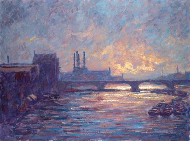 Battersea Sunset by Alexander Millar