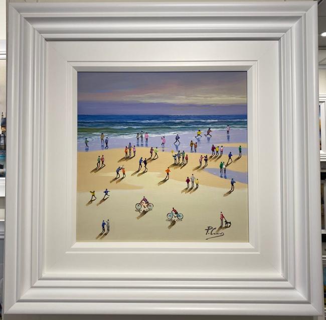 Beach Days I by Paola Cassais