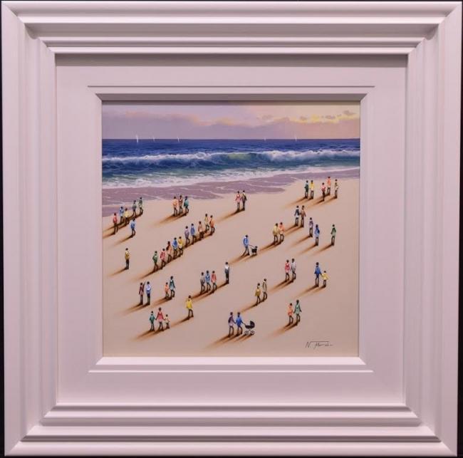 Beach Original IV by Nurio Muro