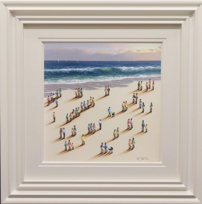 Beach Original VI by Nurio Muro