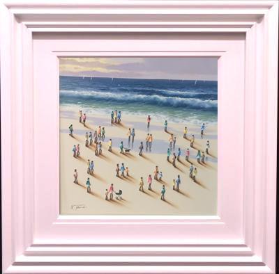 Beach Scene I by Nurio Muro