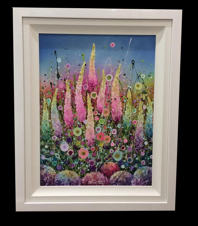 Beau Jardin De Fleurs by Leanne Christie