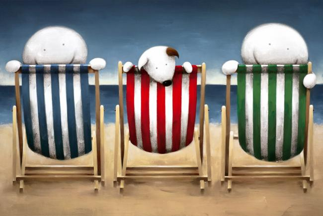 Beside The Seaside by Doug Hyde