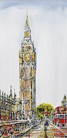 Big Ben London by Nigel Cooke
