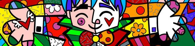 Big Hug by Romero Britto