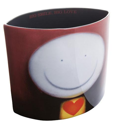 Big Smile Big Love - Vase by Doug Hyde