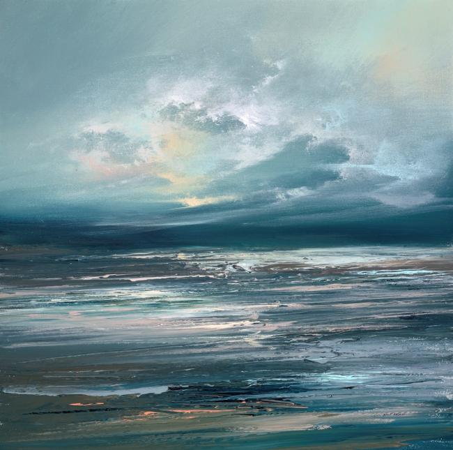 Blue Beyond II by Philip Raskin