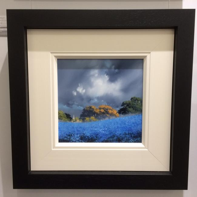 Blue Field II (12x12)by Allan Morgan