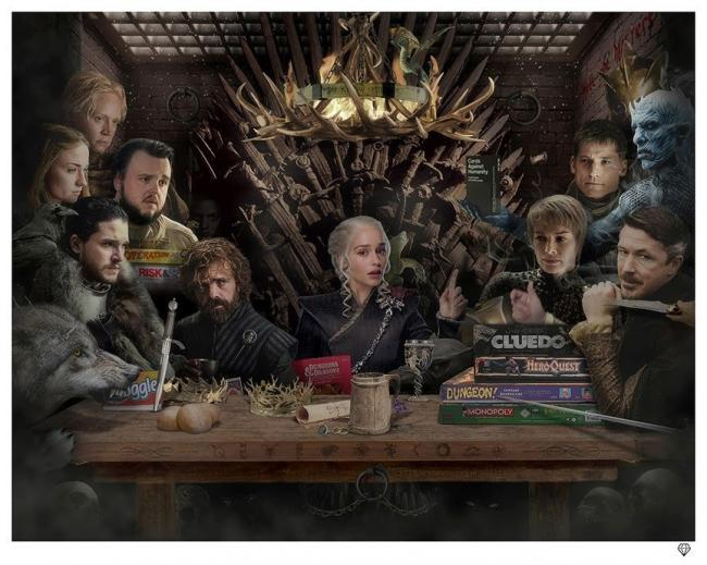Board - Game of Thrones - Colour by JJ Adams