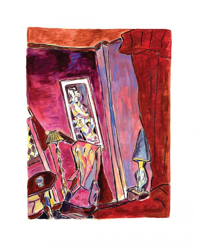 Bragg Apartment New York City 2014 by Bob Dylan