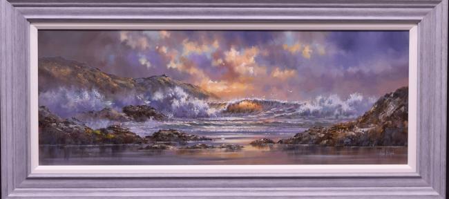 Breaking Waves by Allan Morgan